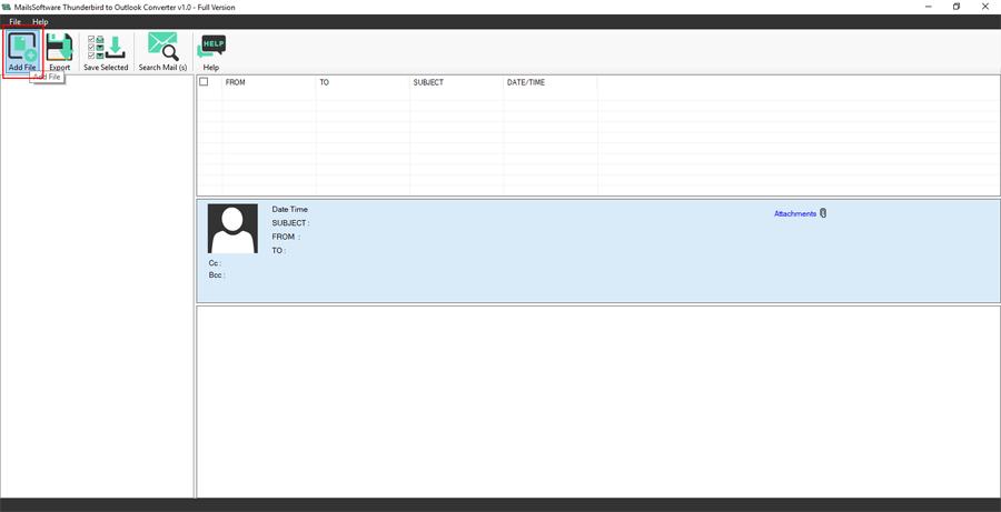 MailsSoftware Thunderbird to Outlook Converter